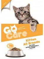 Go Care Kitten - Mâncare uscată premium pentru pui de pisică sau pisici gestante