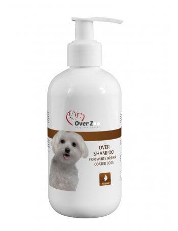 Șampon pentru câini cu blana de culoare deschisă