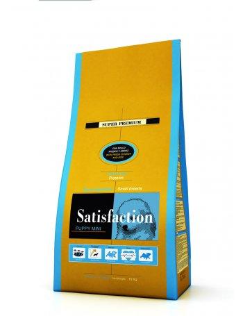 Satisfaction: Mâncare super premium pentru pui de câine de talie mică