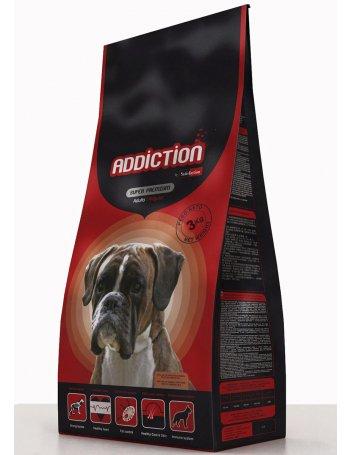 Addiction Adult - asigură rația zilnică de hrană necesară câinilor de talie medie