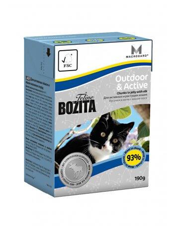 Bozita Feline Active - Bucăți de carne în aspic