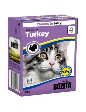 Bozita Feline - Bucîți de carne de Curcan în aspic