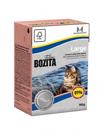 Bozita Feline Large- Bucăți de carne în aspic