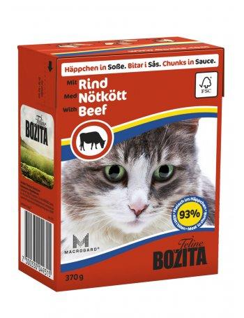 Bozita Feline - Bucăți de Carne de Vită în sos