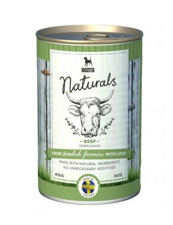 Bozita Naturals Pate in conservă cu aromă de Vită