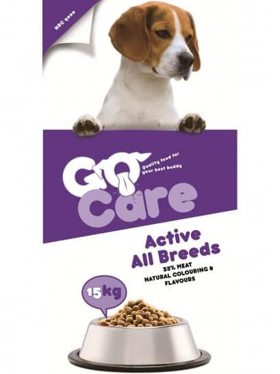 Go Care Activ - Mâncare uscată pentru câini activi