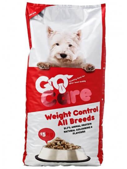 Go Care Sterilizat / Senior - Hrană pentru câini cu tendință de îngrășare