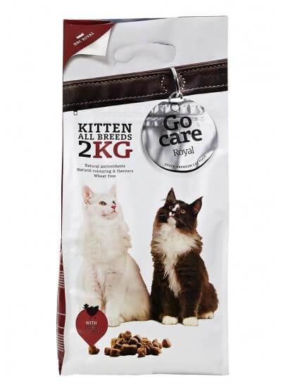 Go Care Royal Kitten - Mâncare super premium pentru pui de pisică
