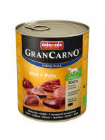 GranCarno Vită și Curcan 800g